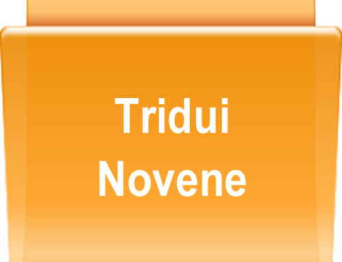 TRIDUI E NOVENE