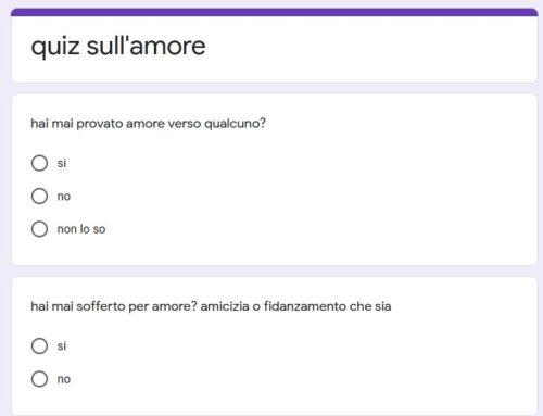 """QUIZ SU """"AMORE E AMICIZIA"""" (by Teodora e Leonardo)"""
