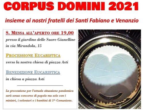 Processione Interparrocchiale del Corpus Domini