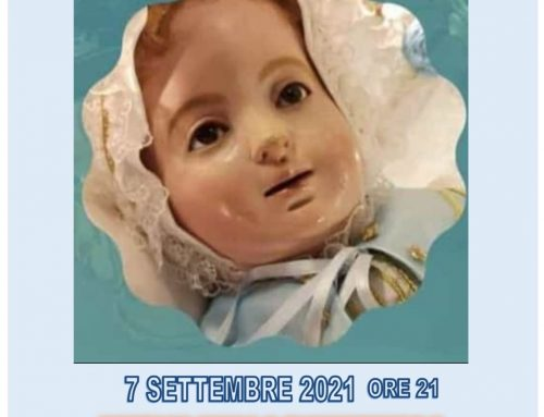 8 Settembre 2021: Celebrazioni in occasione della Festa della Natività di Maria SS.ma